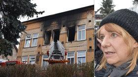 Požár ve Vejprtech má 8 obětí: Ti kluci byli jako naše rodina, dojemná i rozzlobená slova starostky