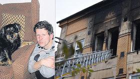 Milan zažil tragický požár domova ve Vejprtech: Nevíme, jak dopadl, bojí se jeho nejbližší