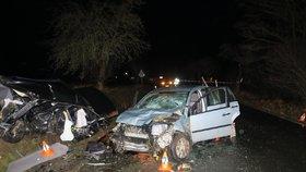 Smrt na Domažlicku: Po nárazu do viaduktu zemřel řidič osobáku