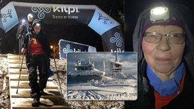 50 km v nohách: Jana (64) miluje extrémní závody, na Lysou horu vyšla za 24 hodin čtyřikrát