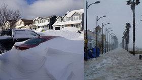 Zdevastované pláže, zatopená města a sněhová bouře. Spoušť ve Španělsku má první oběti