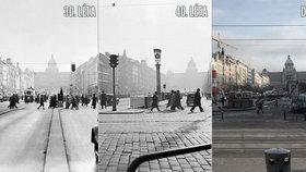 """Semafory řídí dopravu už 90 let! """"Zpomalují, doprava houstne,"""" říkali si tehdy lidé"""