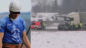 Mladý hasič Fanda (†19) vjel kamionu přímo pod kola: Náraz neměl šanci přežít