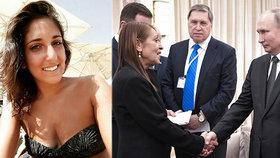 Matku mladé pašeračky konejšil Putin. Babiš i Čaputová zasedli mezi hosty v Izraeli