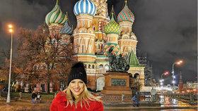 Eva Perkausová v Moskvě: Jako Nastěnka, jen bez Ivánka!