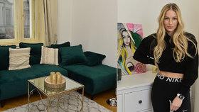 Jak žije krásná modelka Karolína Mališová? V nádherném bytě v centru Prahy!