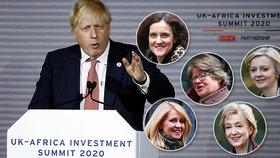 """Premiér chce """"vyhodit"""" pětici ministryň. Rozhází si to Johnson u své milenky?"""