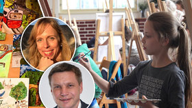 Nejmenší malíři se utkali v Praze 5: Vítězové navštíví ostrov věčného jara, Madeiru