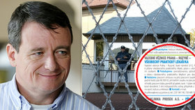 Do věznice shání lékaře za 80 tisíc měsíčně: Rath by jim ušetřil, pracovat ale nesmí