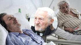 Spolužák Bohdalové Antonín Hardt (84) po rakovině žaludku: Další operace!