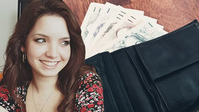 Markéta našla v Pardubicích tašku plnou peněz: Kvůli náleznému se přela s majitelem