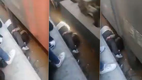 Dívka spadla pod vlak: Její otec reagoval okamžitě