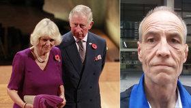 Stavbař Simon (53) tvrdí: Jsem utajovaný syn Charlese a Camilly!