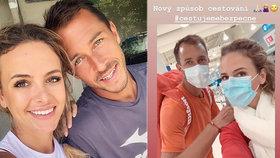 Tenista Rosol s chotí míří do Indie: Strach ze smrtícího viru krotí rouškou!