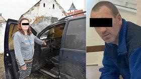 Exmanželka obviněného z vraždy v Klatovech: Škrtil mě a děti kopal! Kamarádi truchlí za ubodaného