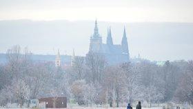 Příští týden se v Praze ochladí: Bude pršet a v okrajových částech města může i sněžit