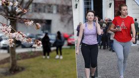 V únoru jako na jaře. V Praze bylo 12 °C, teplotní rekordy padají už čtvrtým dnem