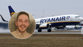 Let z pekla: Na palubě Ryanair zkolabovali 4 cestující. Dívku (17) oživovali