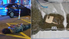 Trojice cizinců skupovala prý marihuanu po kilech: Specializovali se na export