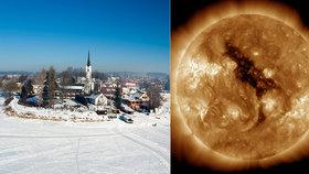 Lidstvo čeká malá doba ledová! Teploty klesnou na minus 50 stupňů Celsia, obávají se vědci