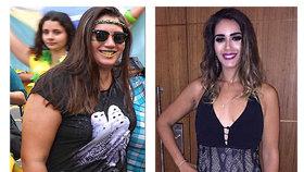 Proměna, ze které se tají dech. Nádherná Brazilka dřív vážila 120 kilo, teď má míry modelky