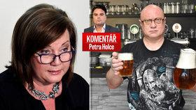 Komentář: Pivo bude i na státní sekyru. Jen to cestou z hospody radši neříkejte