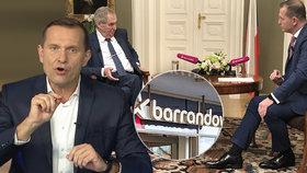 Soukup zmizel z obrazovky, Barrandov měnil program. Trable kvůli nesplaceným milionům?
