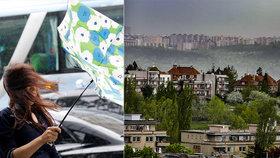 Déšť a sníh nahradí v Praze vichřice: Očekávají se silné poryvy i teploty kolem nuly