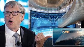 Luxusní jachta za 14,8 miliardy s pohonem na vodík: Bill Gates kupuje superloď