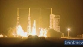 Íránci neuspěli s novým satelitem, nedosáhl oběžné dráhy. Spílají dál USA za mrtvou modlu