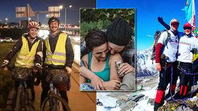 Eliška s manželem vyráží na cestu kolem světa: Tři roky na kole jen s krosnou!