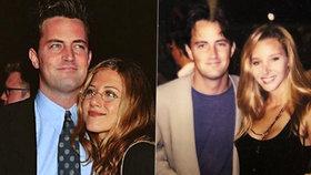 Přátelé opět pohromadě! Chandler se odhodlal jako poslední...