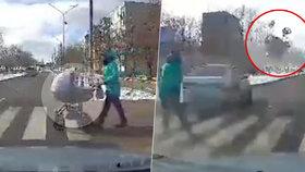Opilý řidič smetl na přechodu kočárek s miminkem: Chlapec je v kritickém stavu!