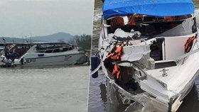 Tragédie v dovolenkovém ráji: Při nehodě lodi zemřel chlapec (†12) a šestiletá holčička