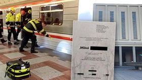Miloš (†52) zemřel pod koly metra na Andělu, kam ho strčili?! Poslední zpráva od přítele a dojemný vzkaz