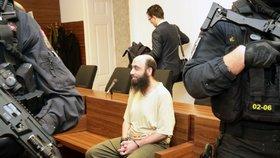 Podporoval teroristy, Kristýnu za jednoho provdal. Eximám Shehadeh dostal 10 let, žalobce se odvolal