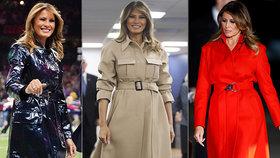 Melania Trumpová vynesla modely za miliony korun. Kdo to první dámě zaplatil?