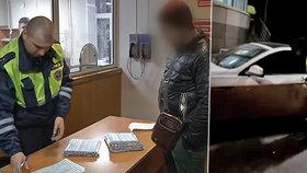 """""""Povedený"""" Rus měl 2 tisíce přestupků a stovky pokut. Policie ho rovnou poslala za mříže"""