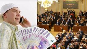 """Přijde Láďa Hruška o kšefty? Politici chtějí reklamám na půjčky """"zatnout tipec"""""""