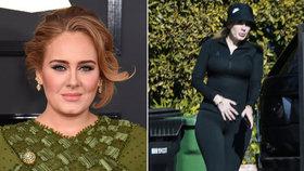 O 45 kilo lehčí Adele děsí hubeností: Odborník má ale pro ni špatnou zprávu
