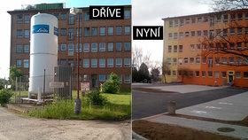 V nemocnici na Borech přibyla parkovací místa: Obří zásobník s kyslíkem musel pryč
