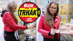 Anežka (20) s Trhákem Blesku vyhrála hned dvakrát: Dvě stovky a slevu!