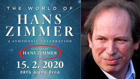 Těšili se na mága filmové hudby Hanse Zimmera: Ten na koncert do Brna ale nepřijede!