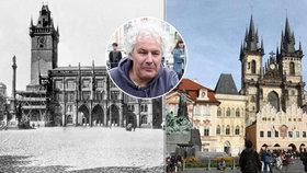 """Petr Váňa (55), """"nový autor"""" Mariánského sloupu. """"Nahradil jsem sochu o 300 let staršího kolegy,"""" říká"""