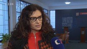 Naštvaná Jermanová šila do novináře. Experti: Selhání, válka i potíže s manželem