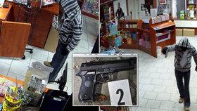 Lupič (36) chtěl vykrást trafiku: Kvůli prodavačce raději utekl!