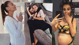Těhotná Bagárová odhalila soukromí! V tomto království žije se svým bojovníkem