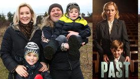 Syn Pepy Vojtka Adam (7) ve filmu Past: Co o něm řekla Stivínová?