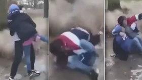 Drsná dětská rvačka v Pardubicích: Oběť schytala tvrdé rány!