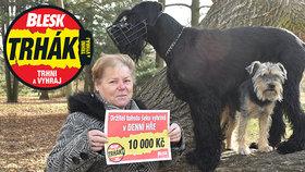 Paní Alena (68) z Karviné získala v Trháku 10 tisíc! Pro výhru ji »vyhnal« manžel